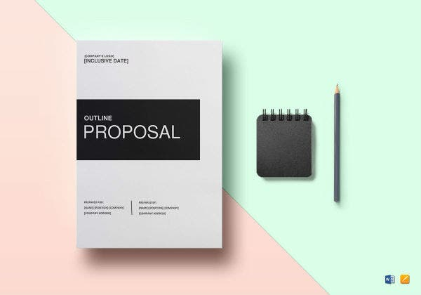 proposal outline template image