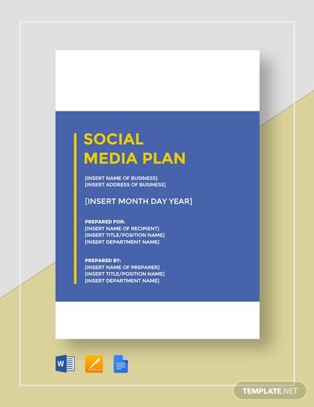 social media plan1