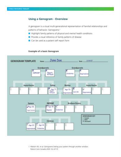 tool genogram 1