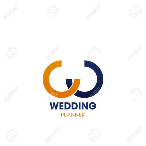 wedding-planner-emblem-with-abstract-letter-w-yellow-and-blue-curved-line-in-shape-of-w-alphabet-sym