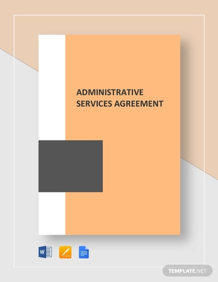 administrative services agreement template