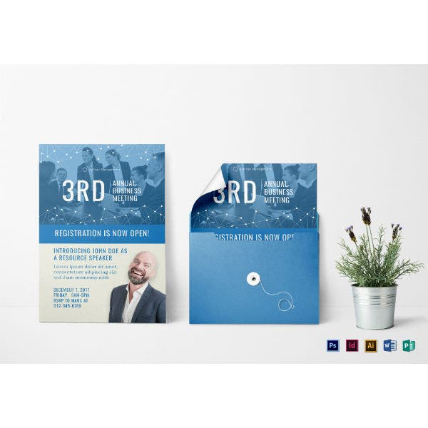annual business meeting invitation template1