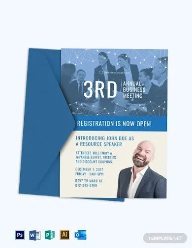 annual business meeting invitation template2