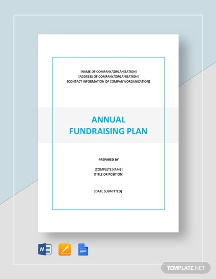 annual fundraising plan