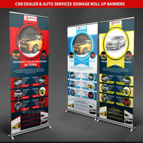 Auto Dealer Services Roll-Up Banner