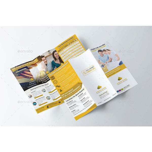 banking-and-financial-services-brochure-template