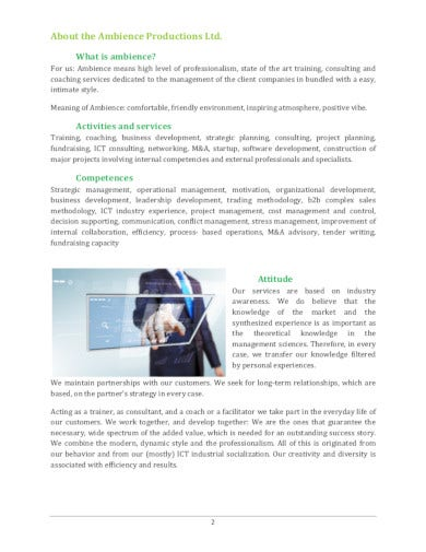 basic consulting company profile in pdf