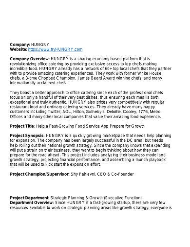 basic consulting project plan in pdf