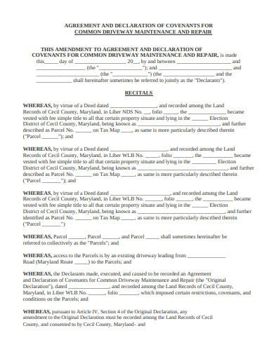 16 Declaration Agreement Templates Pdf Free Premium