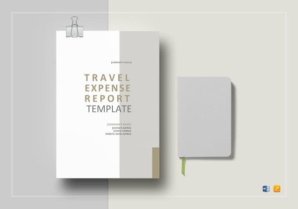 basic travel expense report template