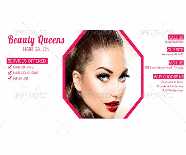 beauty salon timeline template