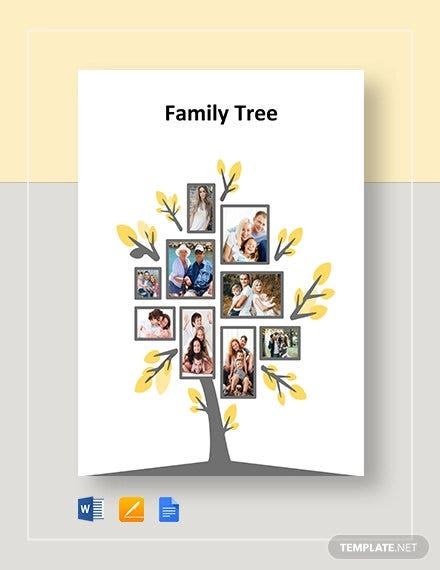 blank family tree template1