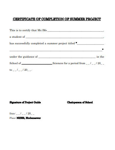 certificate-of-project-completion-template