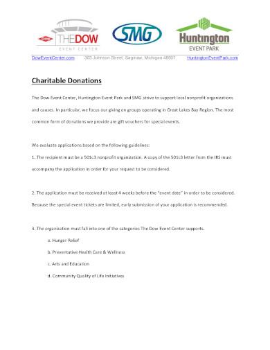charity donation letterhead in pdf