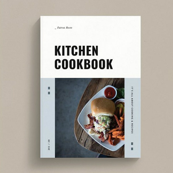 Clean Kitchen Cook Book Template