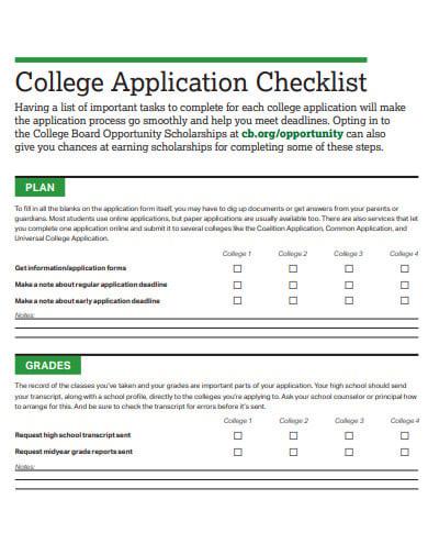 college-application-checklist-example