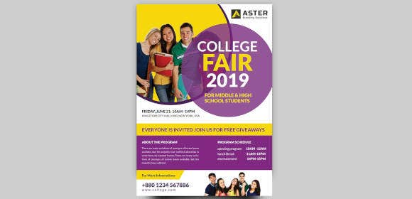 collegefairflyer
