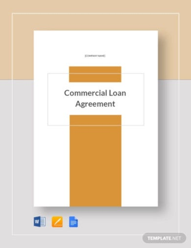 commercial loan agreement template1
