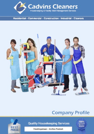 company profile cadvins cleaners