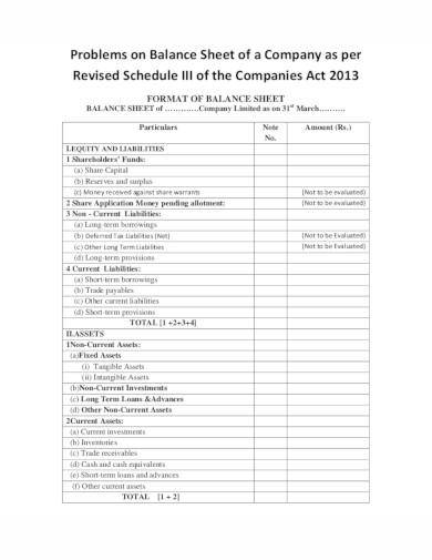 company schedule template