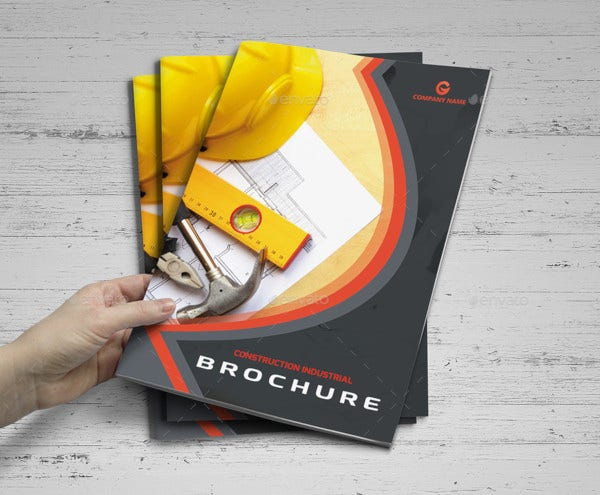 construction brochure templates1