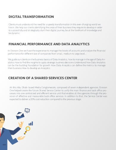 consulting company profile sample in pdf