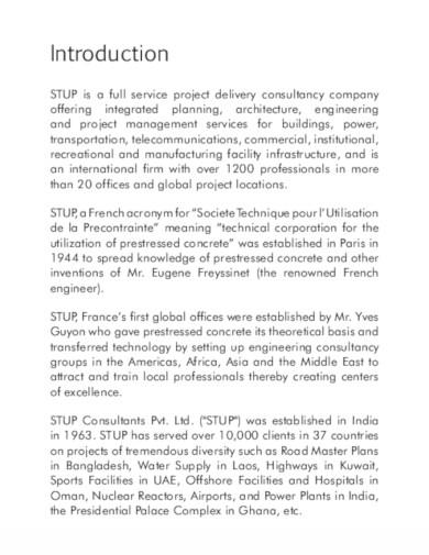15  consulting company profile templates in pdf