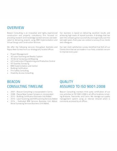 consulting company profile in pdf