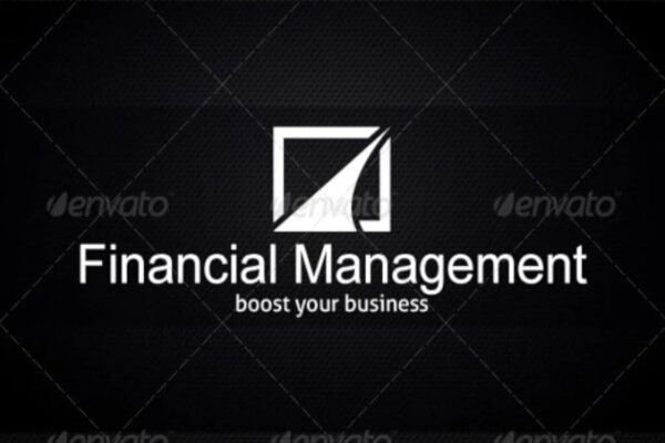 corporate financial business card template