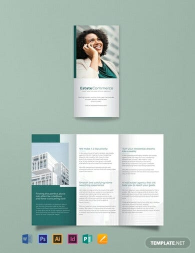 corporate real estate brochure template