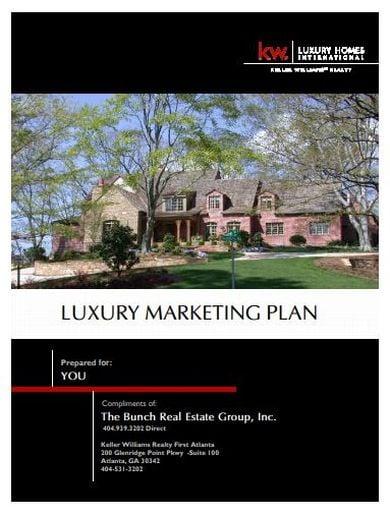 creative real estate marketing plan