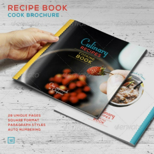 Culinary Recipes Cook Book Sample