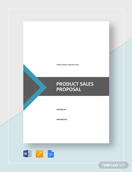 customizable product sales proposal format