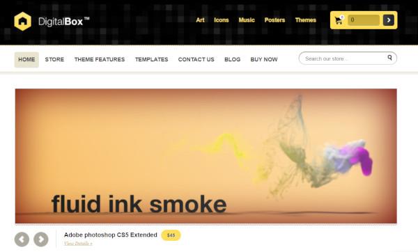 digitalbox ecommerce wordpress theme