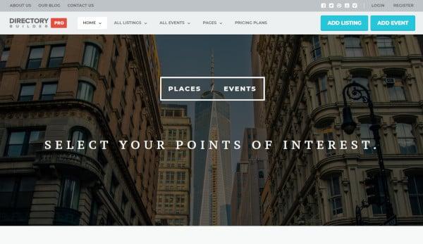 directory builder – mobile responsive wordpress theme
