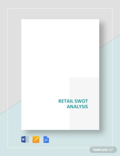 download retail swot analysis template