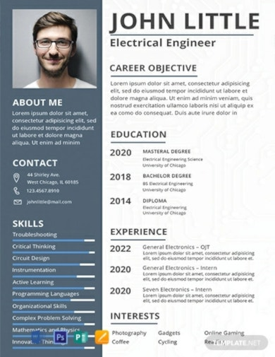 downloadable free fresher resume template