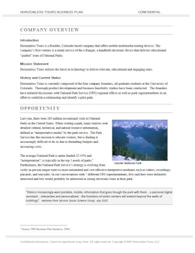 editable tours business plan1