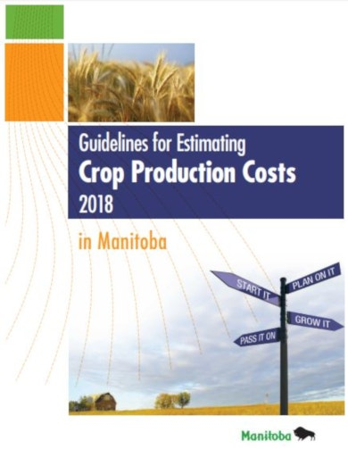 elegant crop production costs budget
