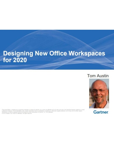elegant office workspace budget template