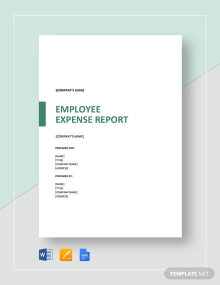 employee expense report template1