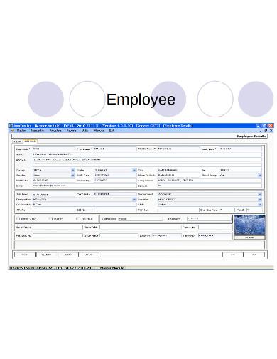 employee production invoice example