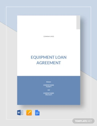 equipment loan agreement1