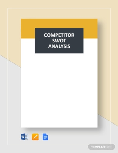 example swot analysis template