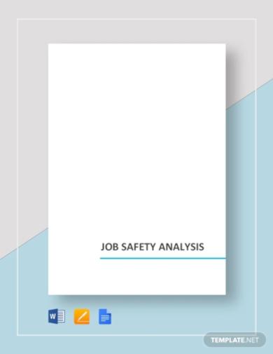 fascinating job analysis template