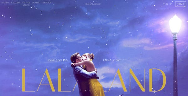 film lalaland multilingual wordpress theme