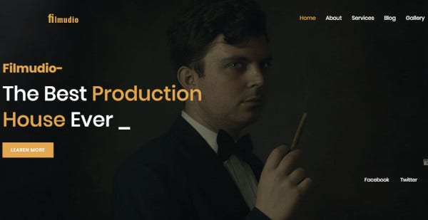 filmudio drag and drop option wordpress theme