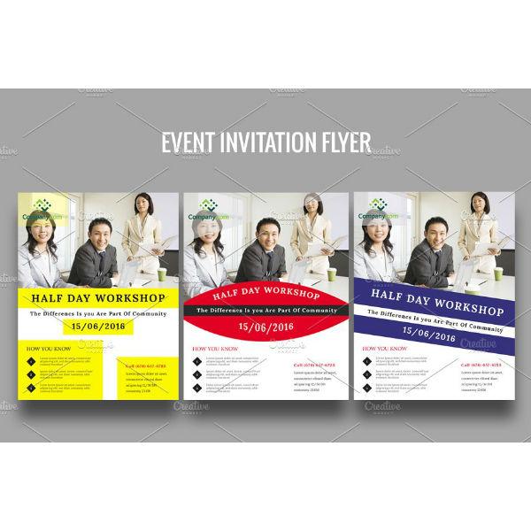 financial event invitation template