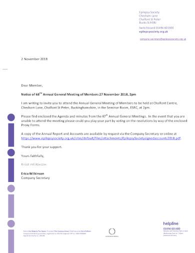 formal non profit letterhead template