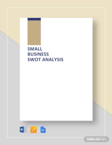 format retail swot analysis template